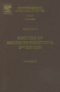 Cover image for Kinetics of Multistep Reactions