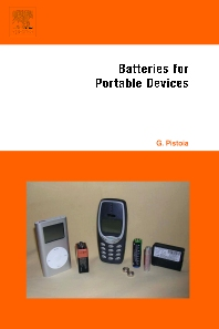 Cover image for Batteries for Portable Devices