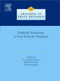 Cortical Function: a View from the Thalamus, 1st Edition,V. Casagrande,S. Sherman,Ray Guillery,ISBN9780444516794