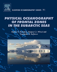Cover image for Physical Oceanography of the Frontal Zones in Sub-Arctic Seas