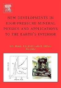 Cover image for New Developments in High-Pressure Mineral Physics and Applications to the Earth's Interior