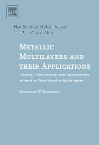 Metallic Multilayers and their Applications, 1st Edition,Gayanath Fernando,ISBN9780444517036