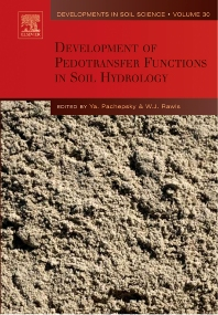 Development of Pedotransfer Functions in Soil Hydrology