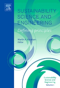 Cover image for Sustainability Science and Engineering