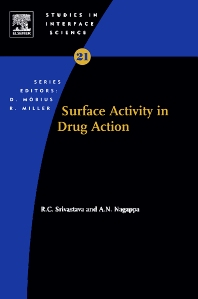 Cover image for Surface Activity in Drug Action