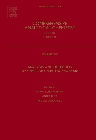 Analysis and Detection by Capillary Electrophoresis - 1st Edition - ISBN: 9780444517180, 9780080456232