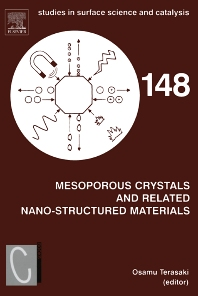 Cover image for Mesoporous Crystals and Related Nano-Structured Materials