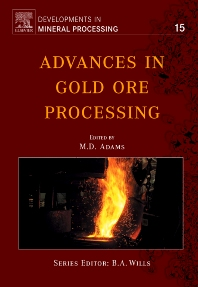 Cover image for Advances in Gold Ore Processing