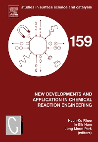Cover image for New Developments and Application in Chemical Reaction Engineering
