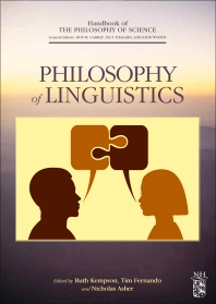 Philosophy of Linguistics - 1st Edition - ISBN: 9780444517470, 9780080930879