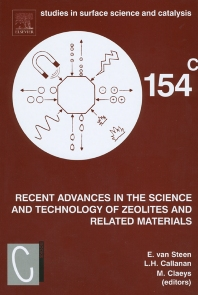 Cover image for Recent Advances in the Science and Technology of Zeolites and Related Materials