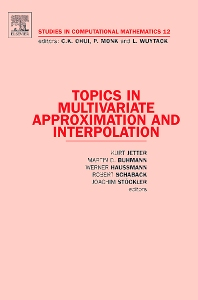 Cover image for Topics in Multivariate Approximation and Interpolation