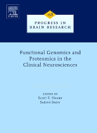 Functional Genomics and Proteomics in the Clinical Neurosciences, 1st Edition,Scott Hemby,Sabine Bahn,ISBN9780444518538