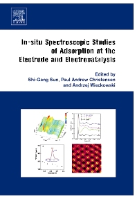 In-situ Spectroscopic Studies of Adsorption at the Electrode and Electrocatalysis - 1st Edition - ISBN: 9780444518705, 9780080489063