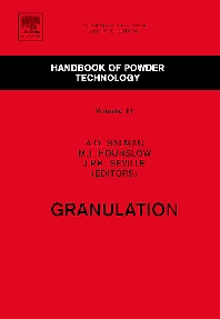 Granulation - 1st Edition - ISBN: 9780444518712, 9780080467887