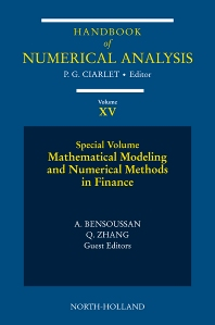 Cover image for Mathematical Modelling and Numerical Methods in Finance