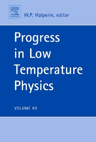 Progress in Low Temperature Physics, 1st Edition,Bill Halperin,ISBN9780444519443