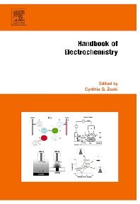 Handbook of Electrochemistry, 1st Edition,Cynthia Zoski,ISBN9780444519580