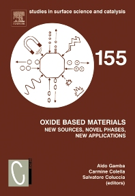 Cover image for Oxide Based Materials