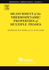 Measurement of the Thermodynamic Properties of Multiple Phases - 1st Edition - ISBN: 9780444519771, 9780080454450