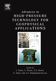 Cover image for Advances in High-Pressure Techniques for Geophysical Applications