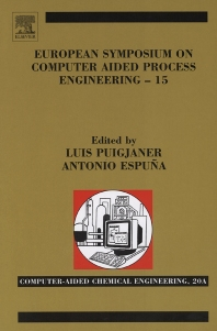 Cover image for European Symposium on Computer Aided Process Engineering
