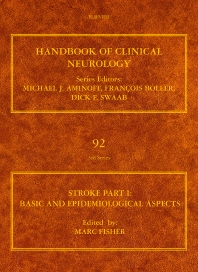 Stroke Part I: Basic and epidemiological aspects, 1st Edition,Marc Fisher,ISBN9780444520036