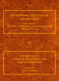 Stroke Part II: Clinical manifestations and pathogenesis, 1st Edition,Marc Fisher,ISBN9780444520043