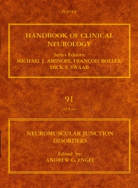 Neuromuscular Junction Disorders, 1st Edition,A. G. Engel,ISBN9780444520081