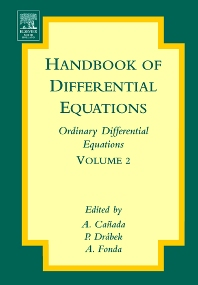 Handbook of Differential Equations: Ordinary Differential Equations, 1st Edition,A. Canada,P. Drabek,A. Fonda,ISBN9780444520272