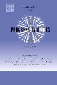 Progress in Optics - 1st Edition - ISBN: 9780444520388, 9780080879819