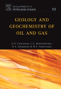 Cover image for Geology and Geochemistry of Oil and Gas