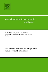 Structural Models of Wage and Employment Dynamics - 1st Edition - ISBN: 9780444520890