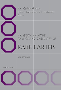 Handbook on the Physics and Chemistry of Rare Earths - 1st Edition - ISBN: 9780444561060, 9780080557625