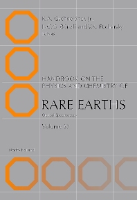 Handbook on the Physics and Chemistry of Rare Earths, 1st Edition,Karl A. Gschneidner,Jean-Claude Bünzli,Vitalij Pecharsky,ISBN9780444521446