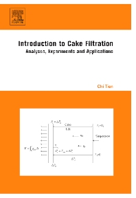 Introduction to Cake Filtration - 1st Edition - ISBN: 9780444521569, 9780080461595