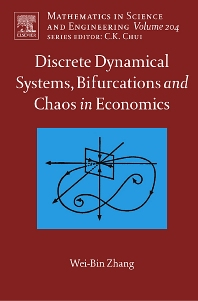 Cover image for Discrete Dynamical Systems, Bifurcations and Chaos in Economics