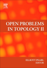 Open Problems in Topology II, 1st Edition,Elliott Pearl,ISBN9780444522085