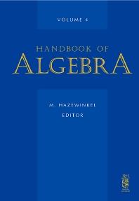Cover image for Handbook of Algebra