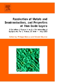 Passivation of Metals and Semiconductors, and Properties of Thin Oxide Layers - 1st Edition - ISBN: 9780444559098, 9780080461526