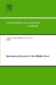 Explaining Growth in the Middle East - 1st Edition - ISBN: 9780444522405