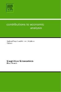 Cognitive Economics: New Trends