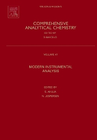 Modern Instrumental Analysis, 1st Edition,Satinder Ahuja,Neil Jespersen,ISBN9780444522597