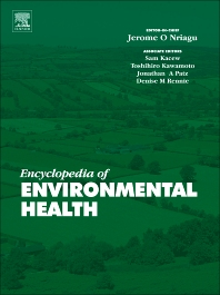 Cover image for Encyclopedia of Environmental Health