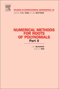 Book Series: Numerical Methods for Roots of Polynomials - Part II