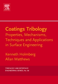 Cover image for Coatings Tribology