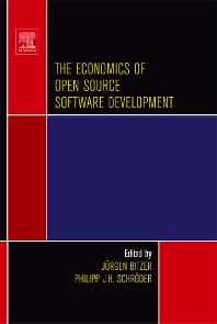 The Economics of Open Source Software Development - 1st Edition - ISBN: 9780444527691