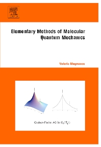 Cover image for Elementary Methods of Molecular Quantum Mechanics