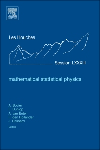 Cover image for Mathematical Statistical Physics