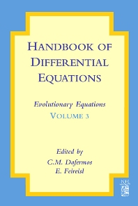 Handbook of Differential Equations: Evolutionary Equations, 1st Edition,C.M. Dafermos,Eduard Feireisl,ISBN9780444528483